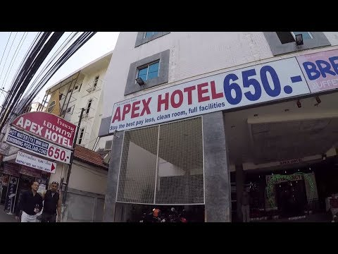 """Pattaya 2nd Road and """"Apex Hotel"""""""