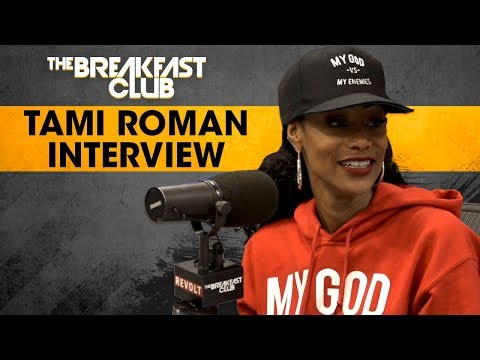 Tami Roman Talks About How She Fell Into StandUp Comedy, Basketball Wives Drama  More