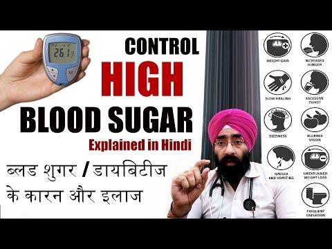 Sugar (Diabetes) Cure Explained in Hindi | शुगर (मधुमेह) के लक्षण, कारण व उपचार | Drion