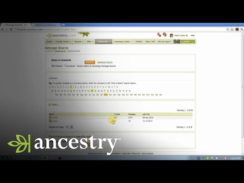 How To Use Message Boards to Break Through Genealogy Brick Walls | Ancestry