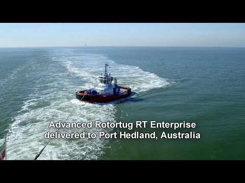 Rotortug RT Enterprise delivered to Rivtow at Port Hedland
