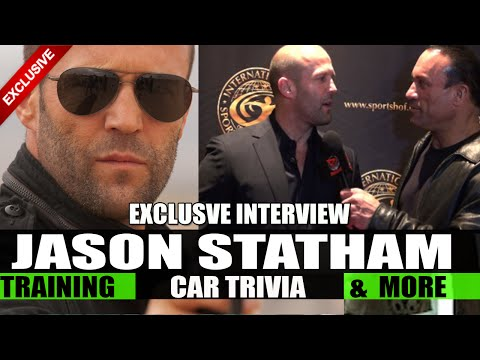 JASON STATHAM Interviewed by Dave Palumbo!