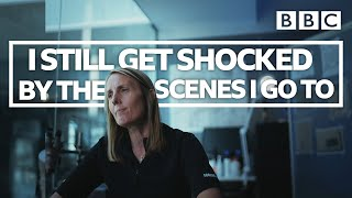 Crime scene worker, Jo, opens up about resilience - BBC