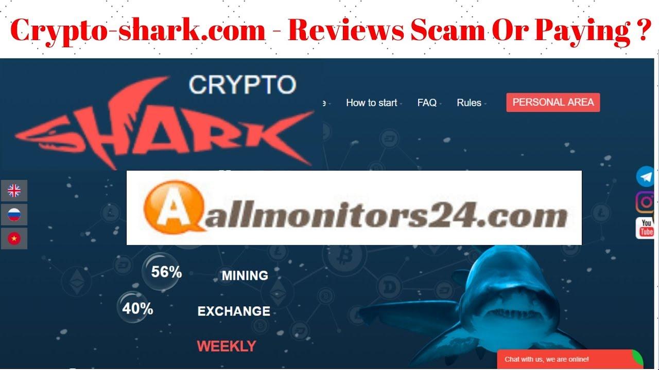 Crypto-shark com- Reviews Scam Or Paying ?