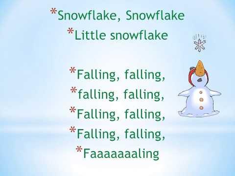 Little Snowflake- Instrumental