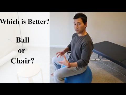 Benefits of Sitting on Exercise Ball: why you should care