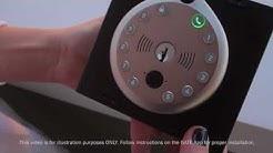 Gate Camera Smart Lock - Installation