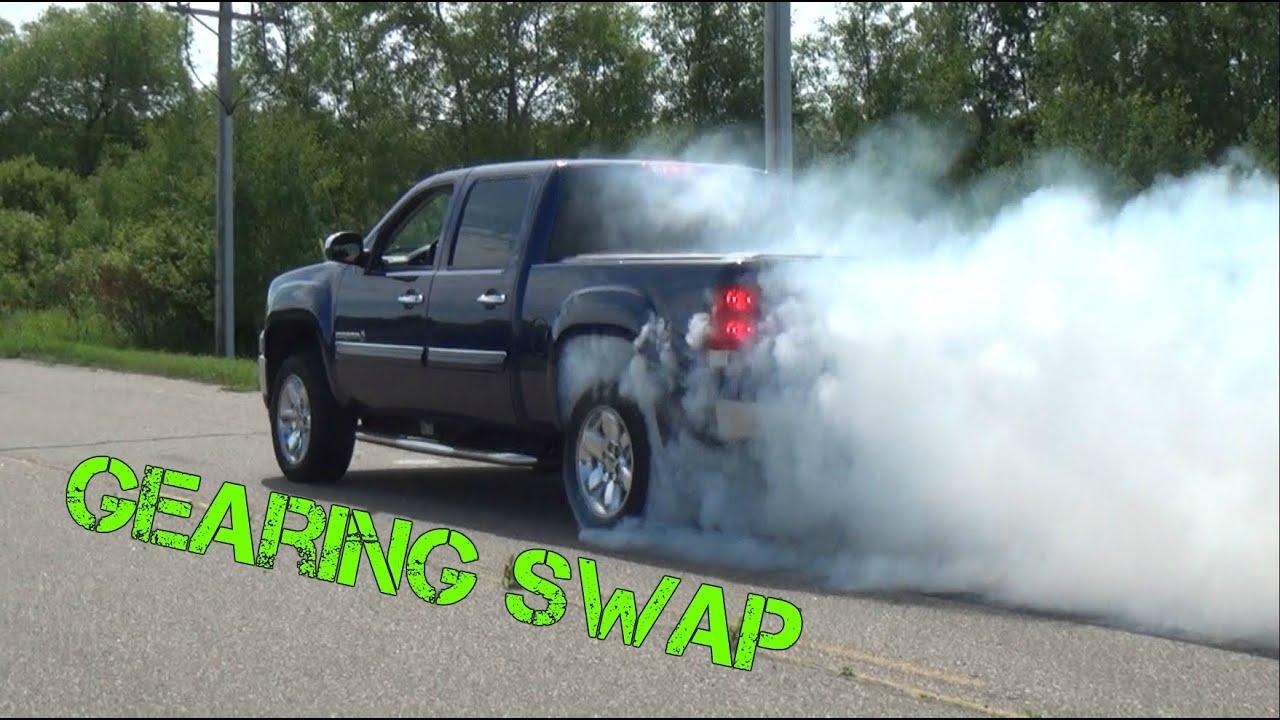 2012 GMC Sierra 3 42 to 4 10 Gearing Swap