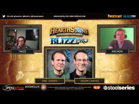 Hearthstone Closed Beta Interview, Lead Designer Eric Dodds