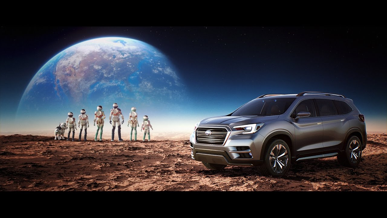 "SUBARU ASCENT SUV CONCEPT Promotional Video ""The Universe Within"""