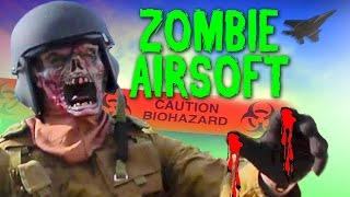 Walking Dead Zombie Airsoft Game - Operation Doom 2014