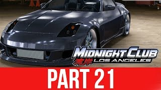 MIDNIGHT CLUB LOS ANGELES XBOX ONE Gameplay Walkthrough Part 21 - 350Z PINKSLIP