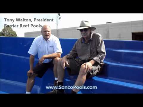 Tony Walton Barrier Reef Fiberglass Pools Testimonial Sonco Pools and Spas Rockford IL