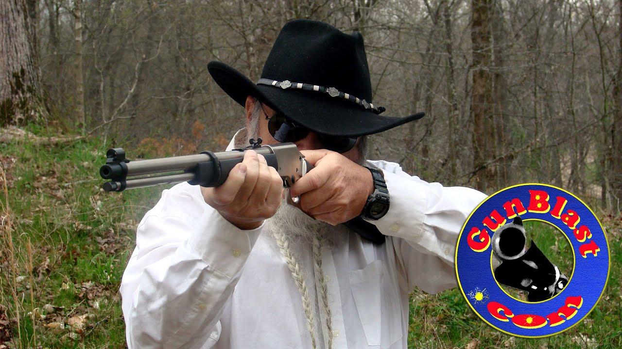Shooting the Chiappa LA322 Takedown 22 Long Rifle Lever Action Rifle -  Gunblast com