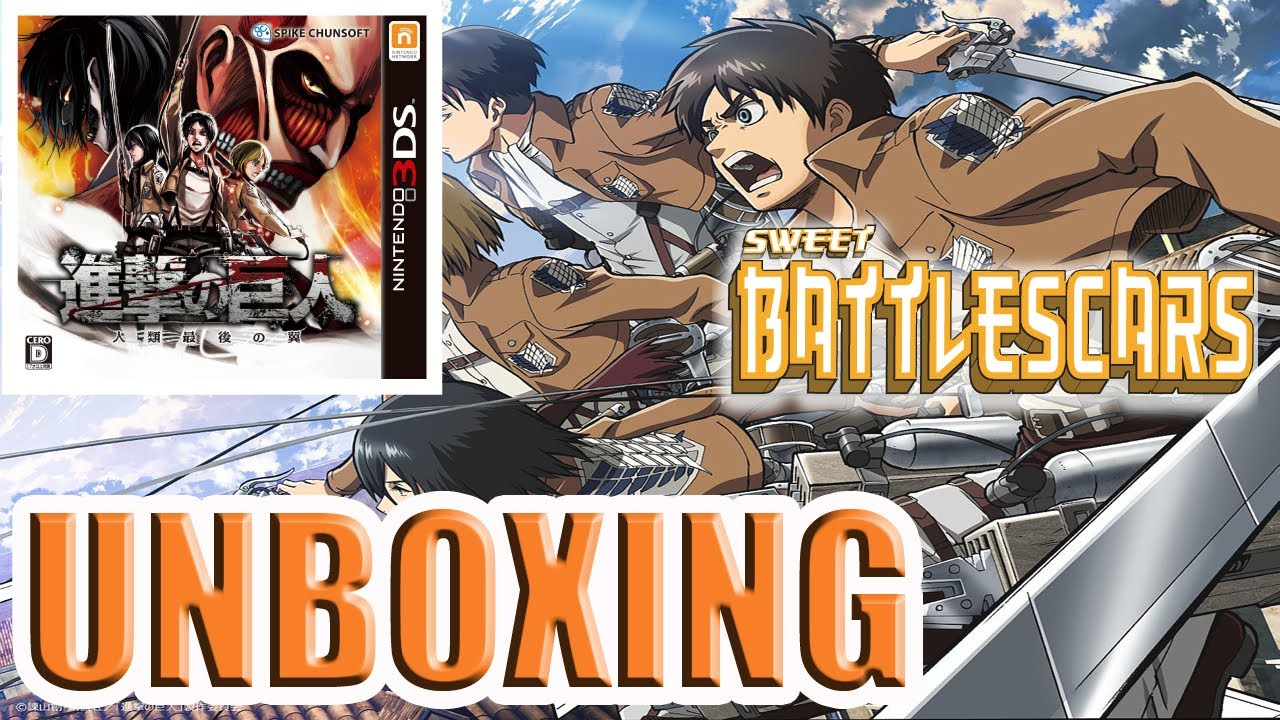 ATTACK ON TITAN - NINTENDO 3DS - UNBOXING - YouTube