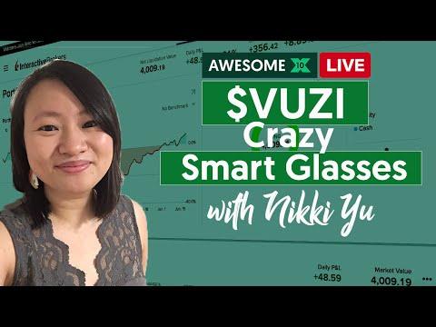 VUZI - CRAZY SMART GLASSSES!  Awesome10X Class With Nikki Yu