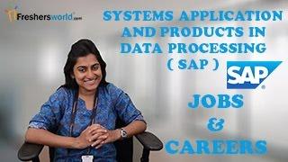 SAP – Recruitment Notification 2016, IT Jobs,Application jobs, Career, Oppurtunities