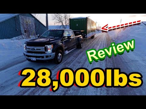 NEW F-350 DRW(Dually) Overview & Hauling Review 30,000lbs (MAX GVWR)