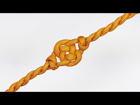 How You Can Make Double Coin Knot Twisted Parachute Cord Celet Without Buckle