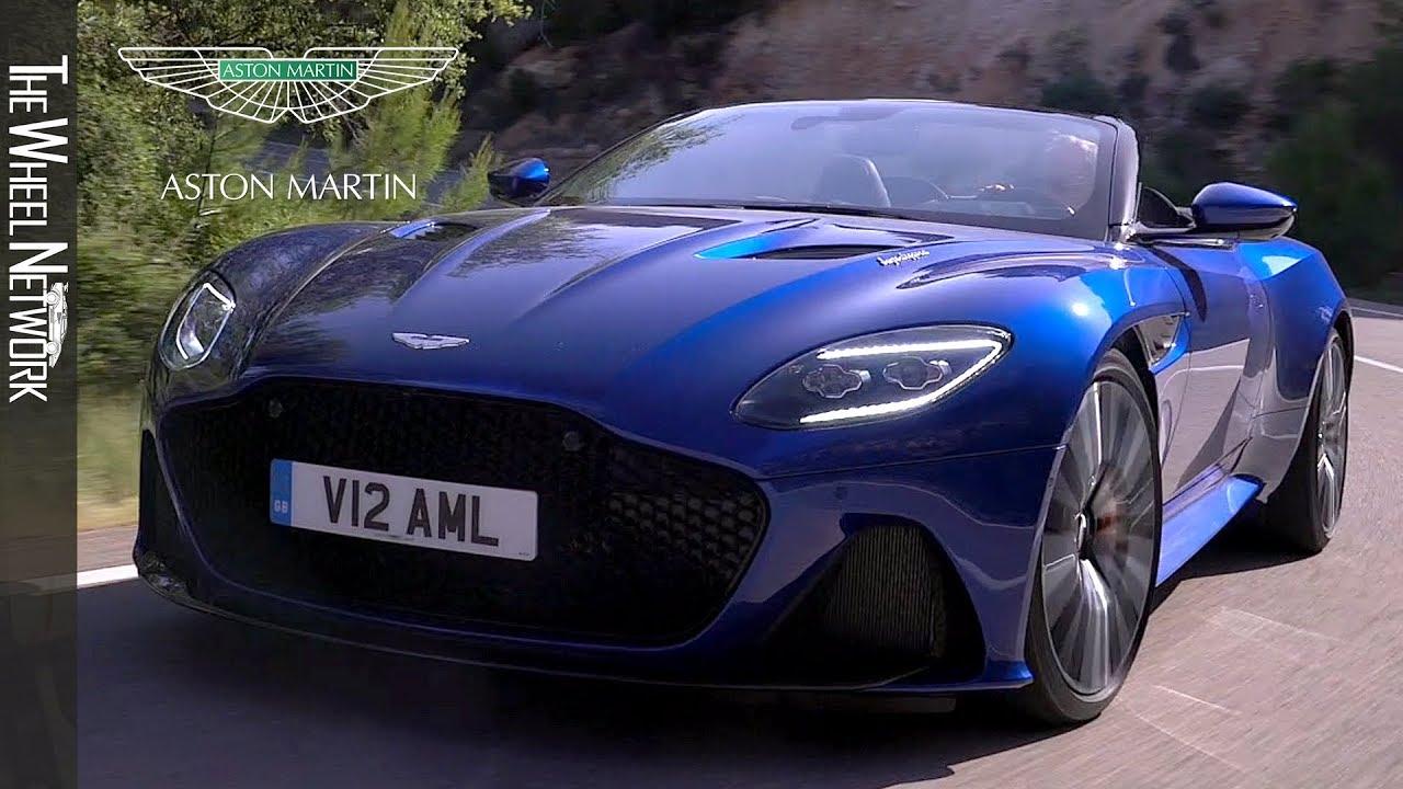 2020 Aston Martin Dbs Superleggera Volante Zaffre Blue Driving Interior Exterior Youtube