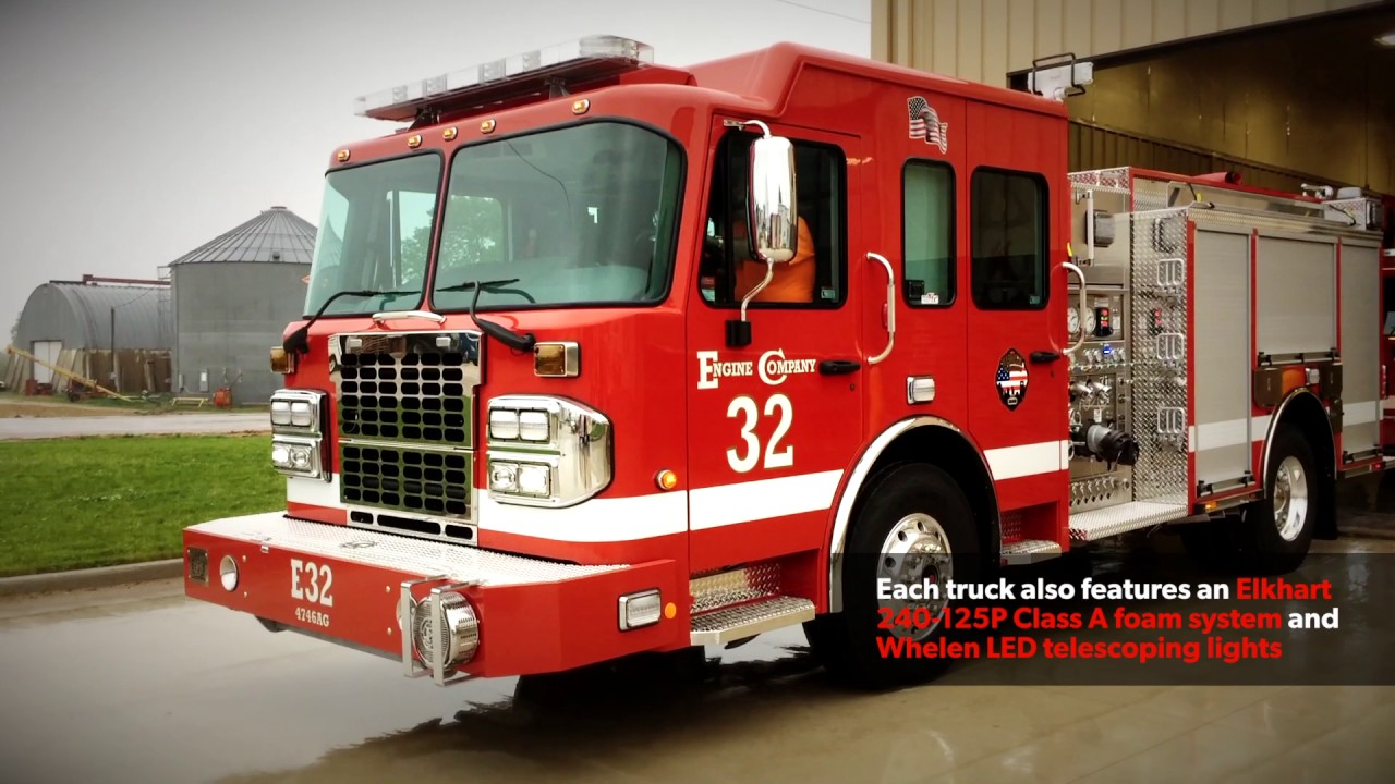 Pumpers - Fire Apparatus | Toyne, Inc