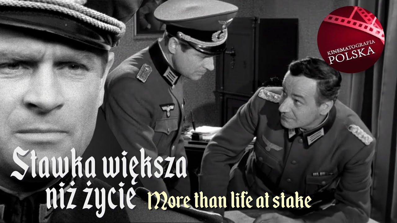 STAWKA WIĘKSZA NIŻ ŻYCIE odcinek 15   Hans Kloss   kultowe polskie seriale   angielskie napisy
