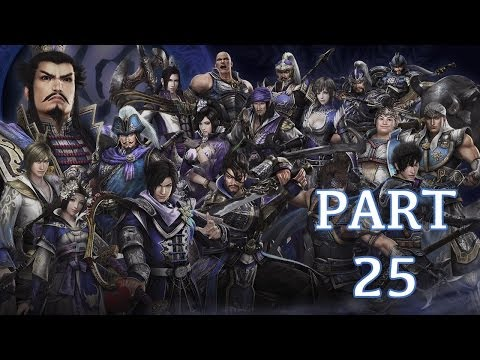 Dynasty Warriors 8 Walkthrough PT. 25 - Campaign for Jianye (Cai Wenji)