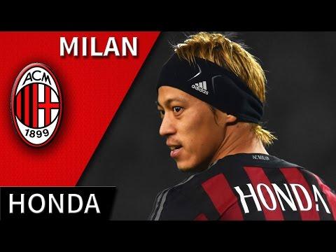 Keisuke Honda • Milan • Magic Skills, Passes & Goals • HD 720p