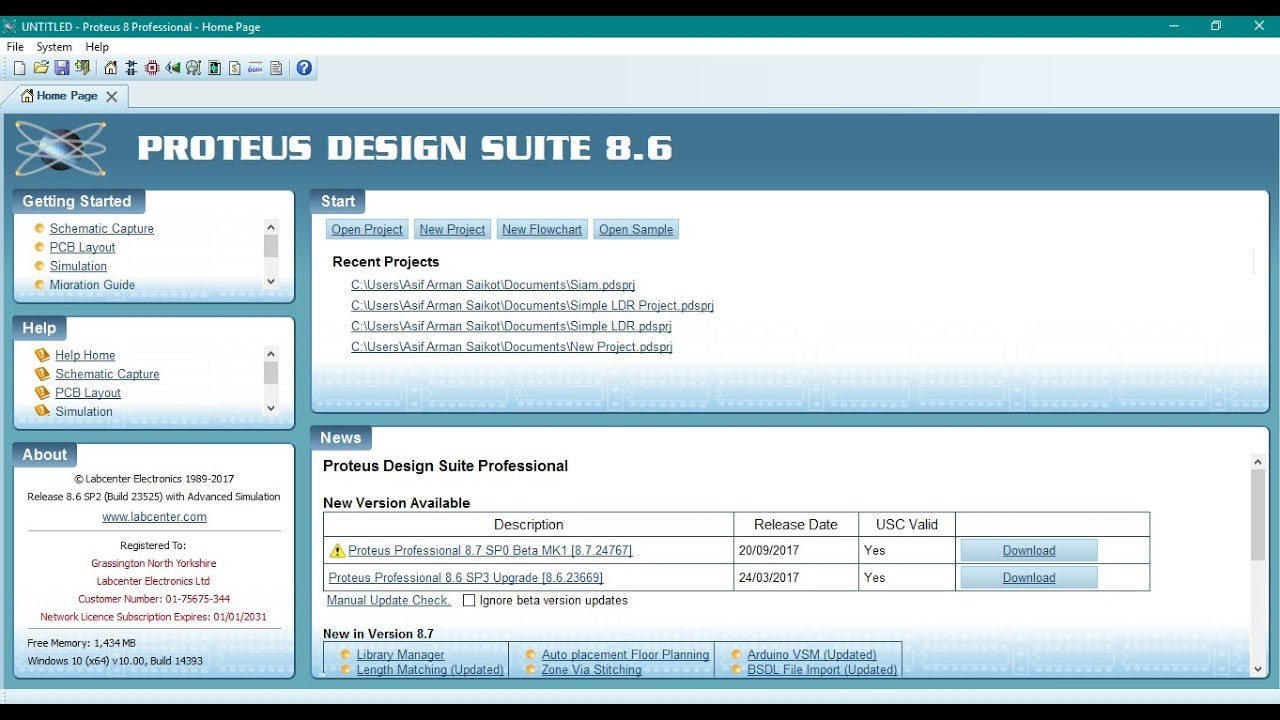 Electronic Circuit Design Simulation Software Free Download How To Install Proteus Professional 86 Full Version Youtube