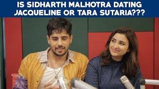 Sidharth Malhotra on Jacqueline Fernandes and Tara Sutaria! JabariyaJodi