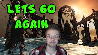 LETS GO AGAIN - Dark Souls 2 DLC#2 (Crown of the Old Iron King) - Part 1 (Stream Highlights)
