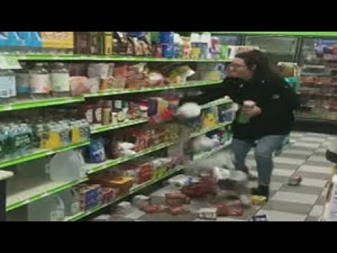 Woman goes on rampage at New Jersey store