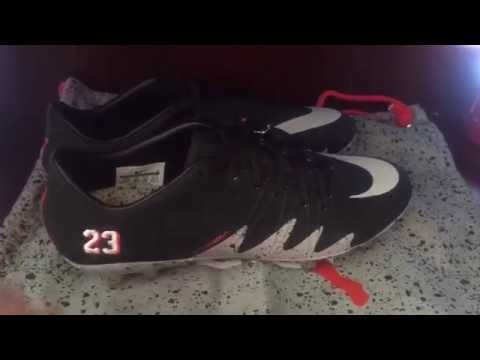 9080c03d0 Hey guys today I made a unboxing video on the Nike Hypervenom Jordan and  Neymar cleat! Hope you enjoy like