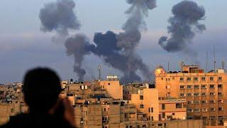 28 Palestinians killed in Gaza as Israel hits Hamas with airstrikes; rockets kill 2 Israelis