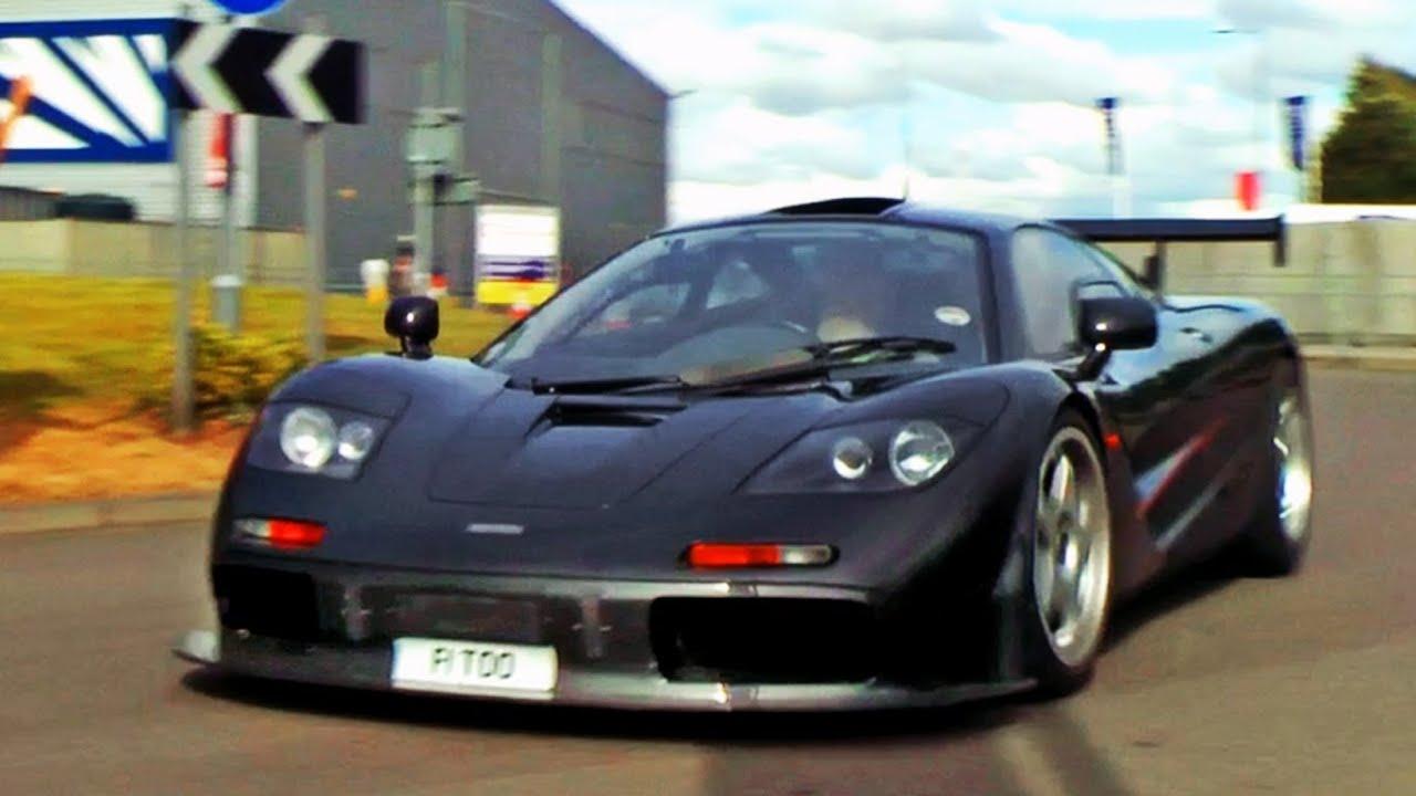 Super RARE Supercars driving on the road! - McLaren F1, F40, Enzo, XJ220 etc