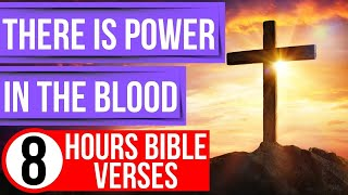 Power in the blood of Jesus (Encouraging Bible verses for sleep)