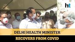 Delhi Health Minister Satyendar Jain tests negative for Covid-19, discharged