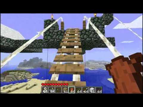Minecraft - Zipline Mod