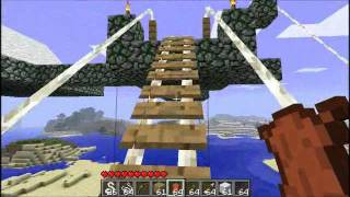 Repeat youtube video Minecraft - Zipline Mod