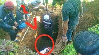 Makam Hafiz Cilik Dibongkar, Subhanallah Betapa Terkejutnya Keluarga Melihat Kondisi Jenazahnya