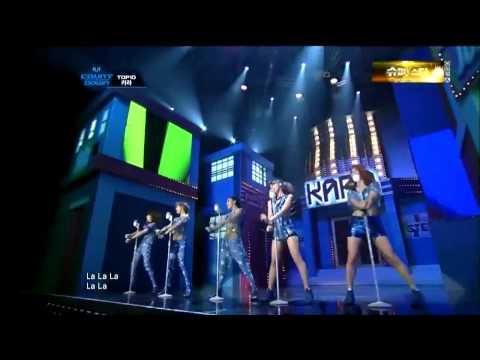 【HD繁中字�15 KARA - STEP Live @ Comeback Stage
