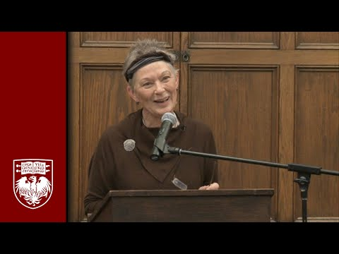 Sherry Poet-In-Residence Series: Ann Lauterbach Poetry Reading
