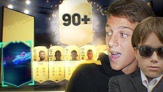 ПОЙМАЛИ OTW И ИГРОКА 90+ | 50000 FIFA POINTS НА ПАКИ