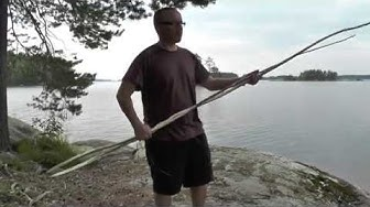 Kanoottipurjeen prototyyppi