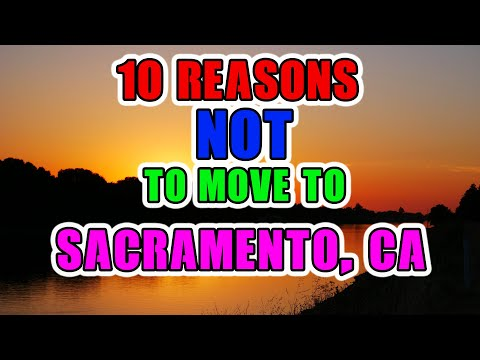 Top 10 reasons NOT to move to Sacramento, California. Sun and a need for skin care is one of them.