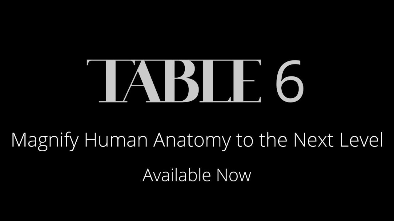 Anatomage Table - Virtual Anatomy Dissection Table