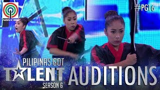 Pilipinas Got Talent 2018 Auditions: Janah Jade Lavador - Arnis Exhibition