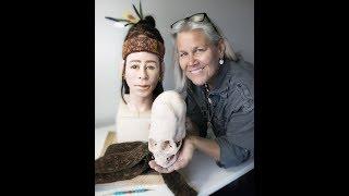 Paracas Elongated Skulls: Facial Reconstruction By Marcia K. Moore