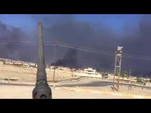 بالفيديو.. تقدم القوات الامنية باتجاه اطراف الموصل