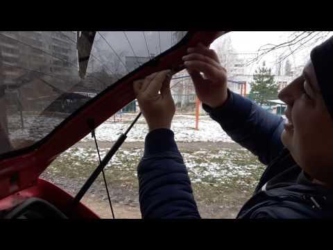 Ремонт контактов обогрева стекла Daewoo Matiz